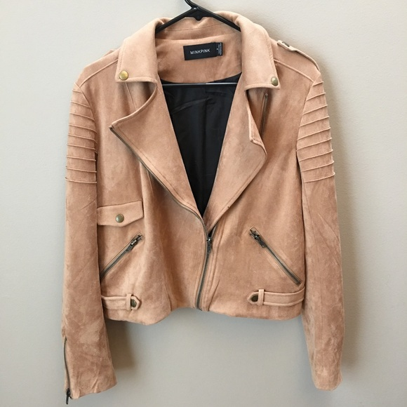 MINKPINK Jackets & Blazers - MINKPINK now or never faux suede biker jacket